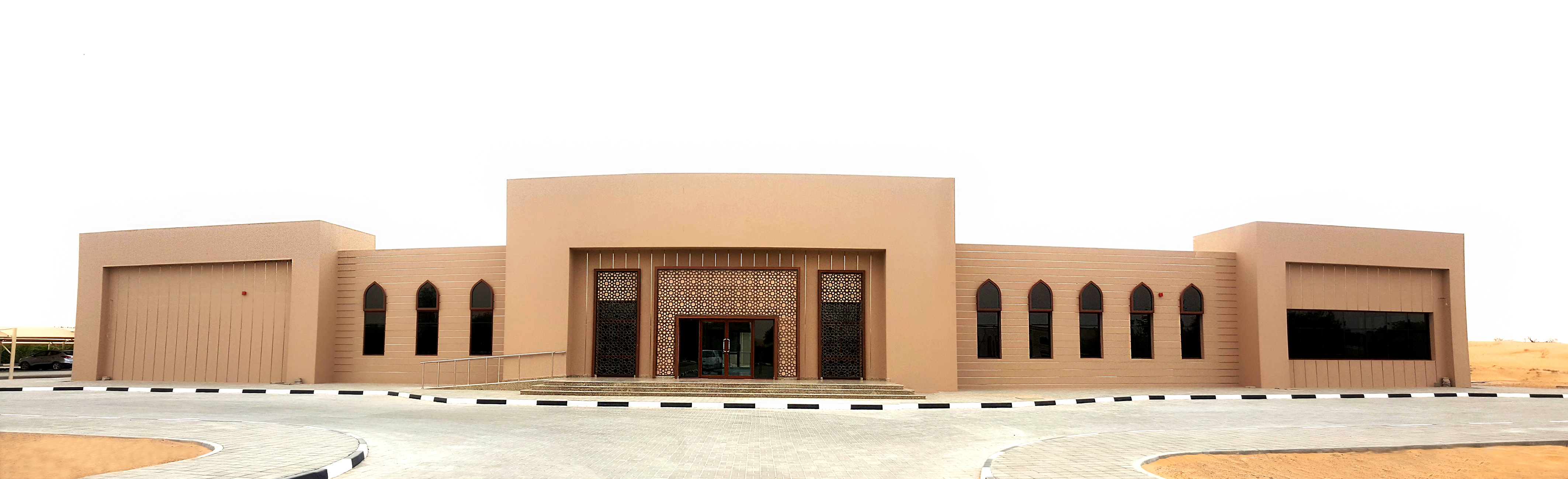 Administration building enviroment